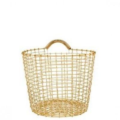 Bin 16 Basket | Brass