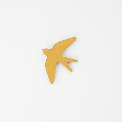Snug. flower bird   Mustard