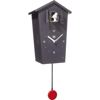 Birdhouse Cuckoo Clock Black