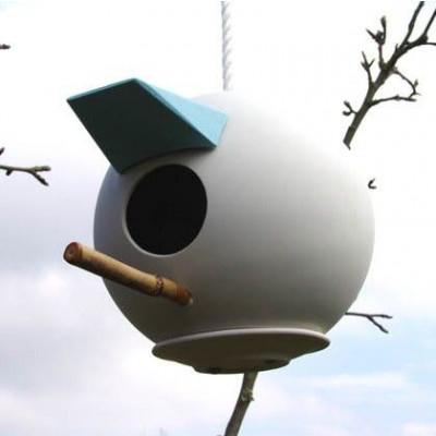 Vogel-Box   Weiß