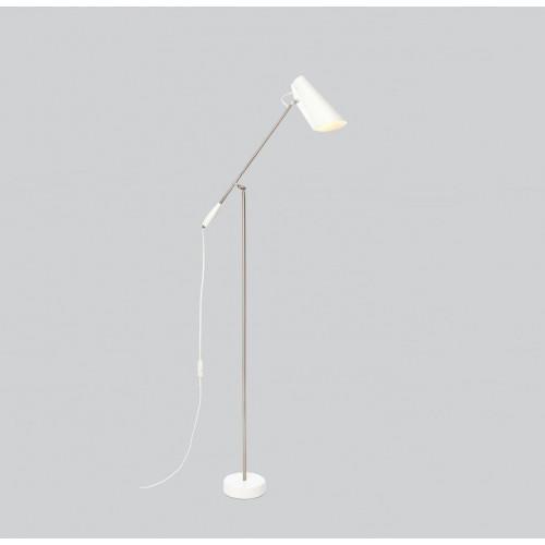 Floor Lamp Birdy | White Metallic