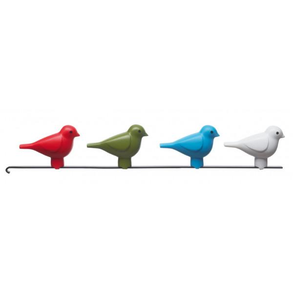 Vogelhuis Koekoek Klok Wit