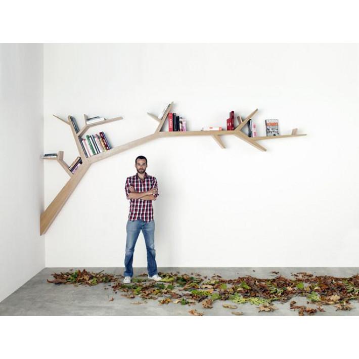 Bookshelf Tree Branch Oak