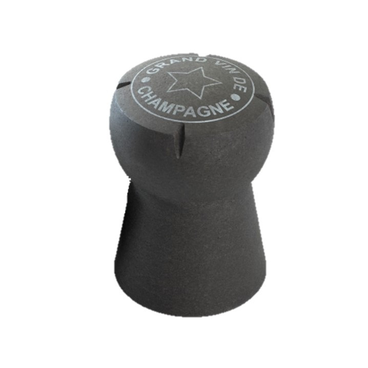 Side Table Giant Champagne Cork | Black