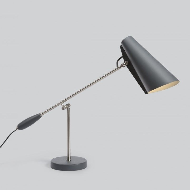 Table Lamp Birdy | Grey Metallic