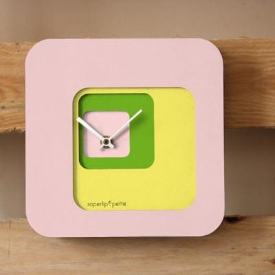 Back Clock | Pink