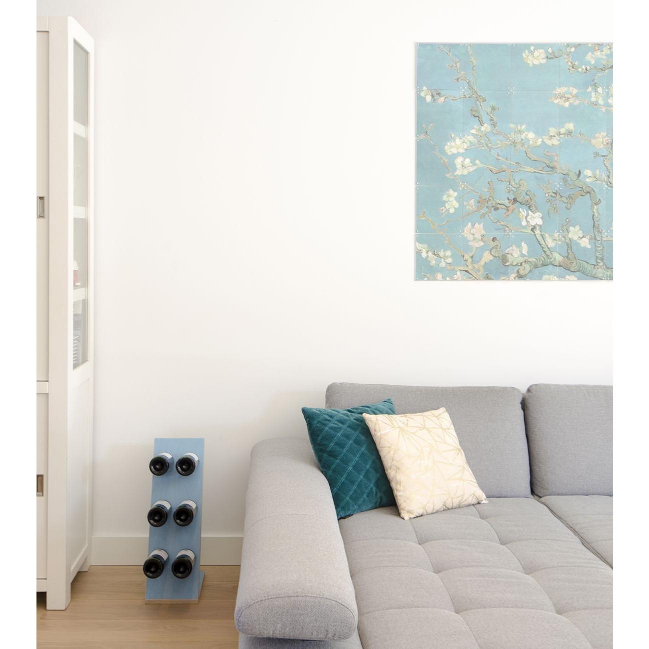 Weinregal Compact Six   Blau