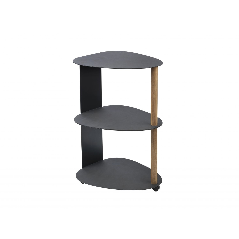 Curve Table Double | Black