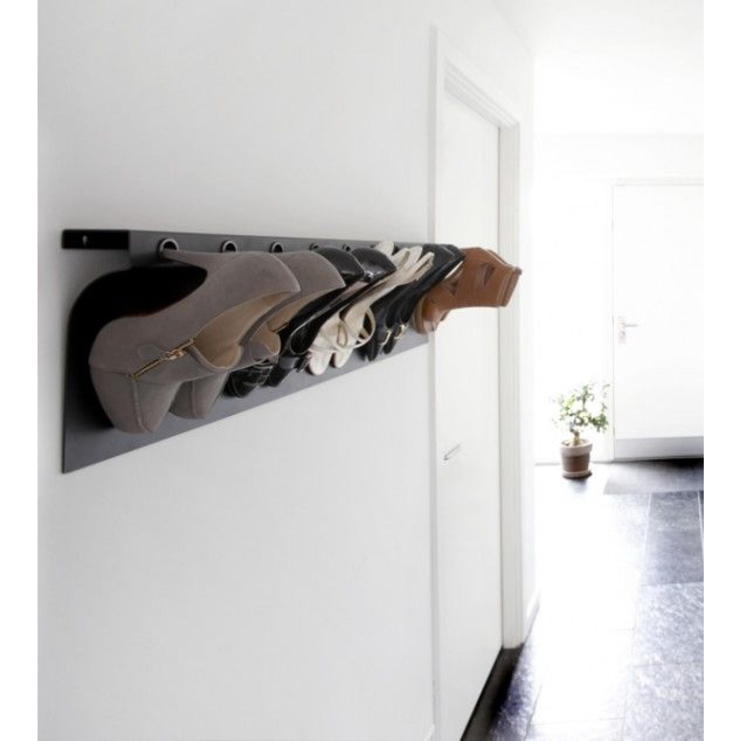 Shoe Rack Flash Up 100 | Walnut