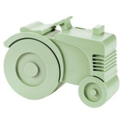 Lunchbox Traktor | Hellgrün