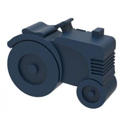 Lunchbox Traktor | Dunkelblau
