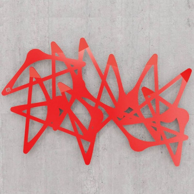 Blabla Horizontaler Kleiderbügel   Rot