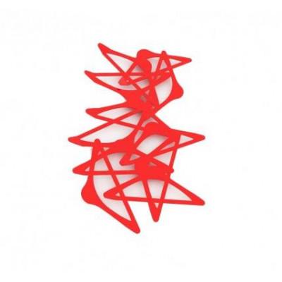 Blabla Vertikaler Kleiderbügel   Rot