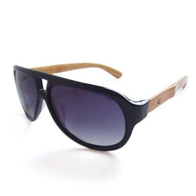 Unitdot Black Aviator-Sonnenbrille