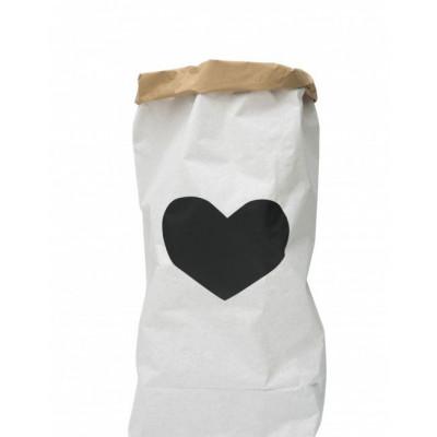 Papier-Aufbewahrungstasche | Herz