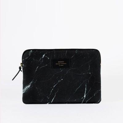 Black Marble iPad Sleeve