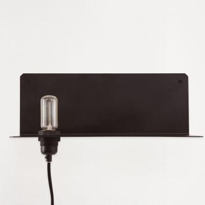 90° Wall Light   Black