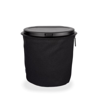 Flextrash Mülleimer 5 L | Schwarz