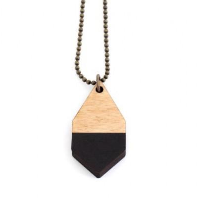 Diamante Small Necklace   Black