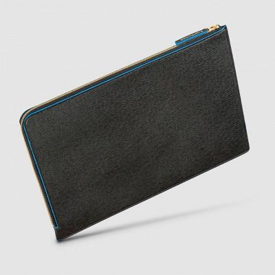 Laptop Case   Black & Blue