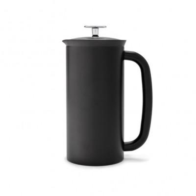French Press mit Kaffeefilter P7 | Schwarz