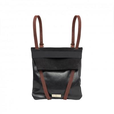 Backpack Black   Leather & Nubuck