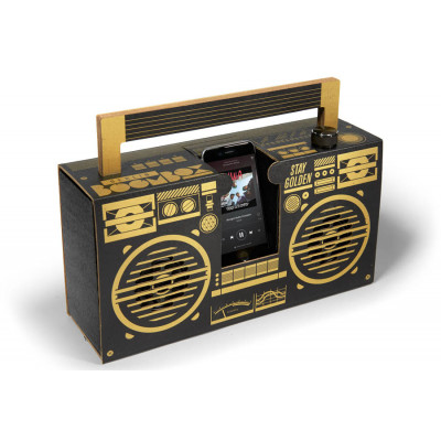 Mobiles Lautsprechersystem Berlin Boombox | Schwarz