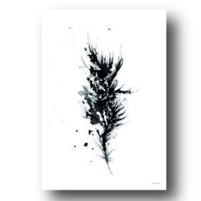 Poster 'Black Quill'