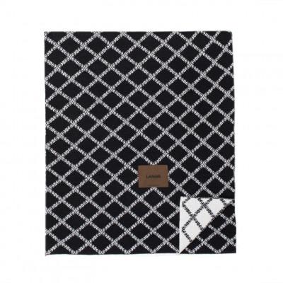 Merinowool Blanket | Black - White