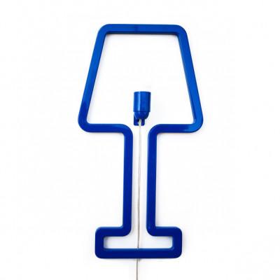Wall Lamp ColoredShape Blue
