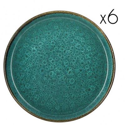 Teller Ø 27 cm 6er-Satz | Grün