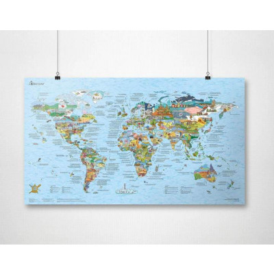 Bucketlist Map   Wiederbeschreibbar