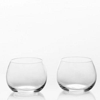 Blob Set of 2 Water/Wine Glasses