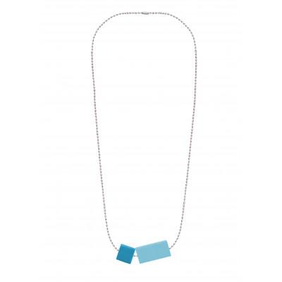 Halskettenblock Kleines Duo | Blau