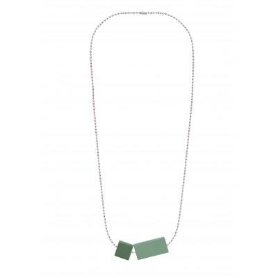 Halskettenblock Kleines Duo | Grün
