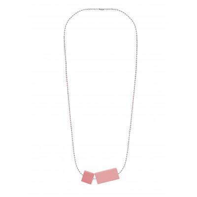 Halskettenblock Kleines Duo | Rosa