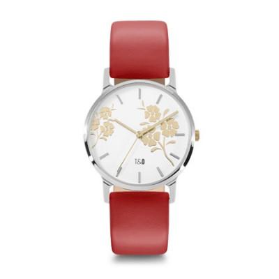 Frauen-Uhr Bloom 34   Rot