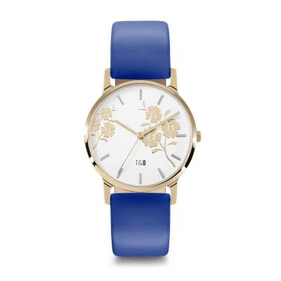 Frauen-Uhr Bloom 34   Blau