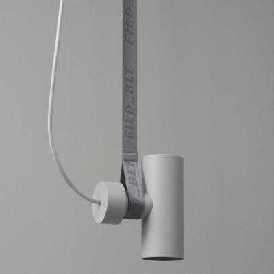 Deckenlampe BLT 4 | Grau mit Graue Gurt