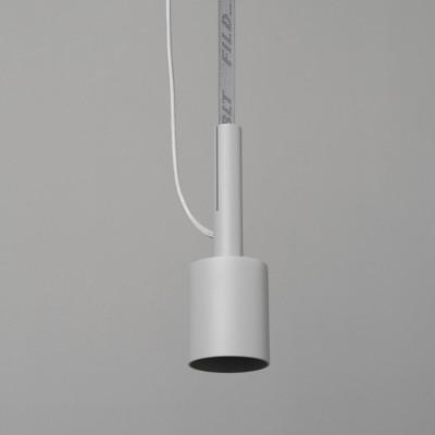 Deckenlampe BLT 5 | Grau mit grauem Gurt