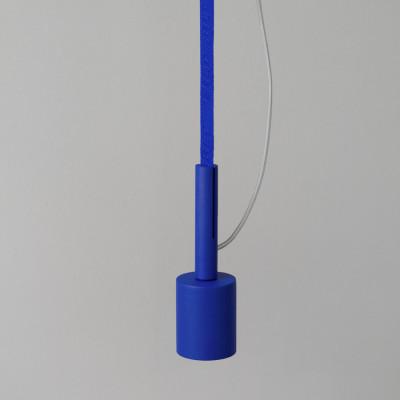 Deckenlampe BLT 5 | Ultramarin mit Blauem Gurt