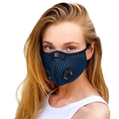 Gesichtsmaske Breezy | Blau