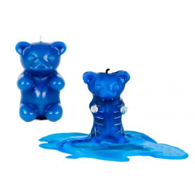 Gummy  Bear Candle - Blue