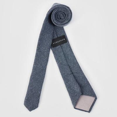 Silk Tweed Tie | Blue Mussel