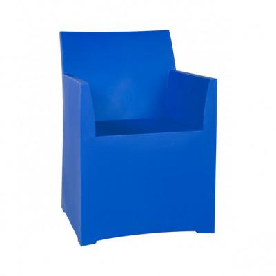Rainbow Stool with cushion - Blue