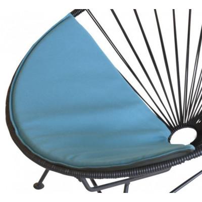 Acapulco Mini Cushion | Petrol Blue