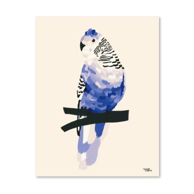 Blauer Vogel - Poster