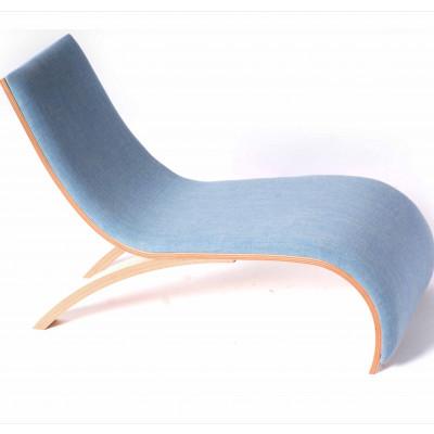 Wave Chair Blau