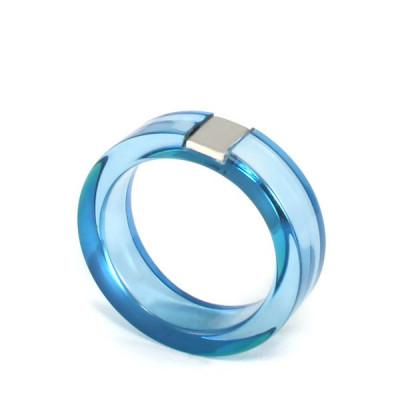 Acrylring - Blau