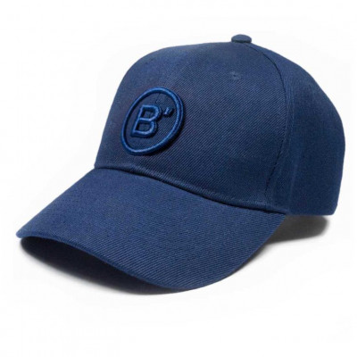 B' Cap Blue   Blue Patch